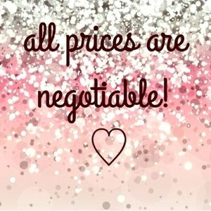 Flexible prices! Make an offer!
